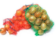 Agriculture Drawstring Industrial Mesh Bags 20kg For Potatoes Storage