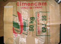 Industrial Sugar / Minerals Plastic Valve Bags With Open Top / M Gusset