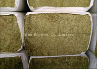 Colored Non Toxic Large Round Hay Bale Covers , Breathble Hay Bale Fabric