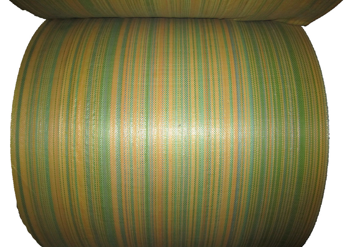 Moisture Proof Woven Polypropylene Fabric Non Toxic 60 Gsm - 120 Gsm Density