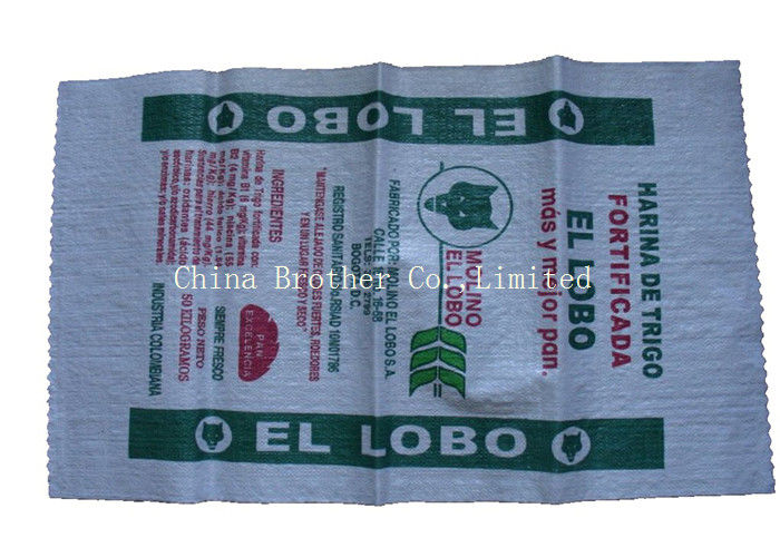 Tear Resistant PP Woven Sack Bags Sand Bags Customized Size 25kg / 50kg